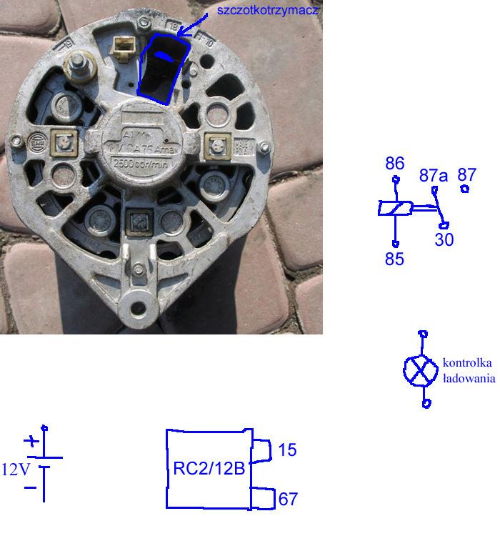 Alternator A111e - problem