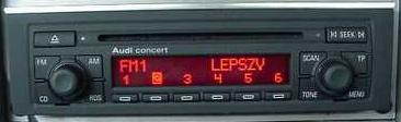 Audi Concert CD- jak podłączyć do auta bez CAN?