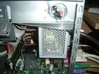 Mini ITX Ever-Power 120W instalacja innego zasilacza