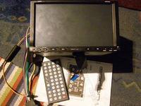 Eonon E838- pęknięta taśma Panel-radio
