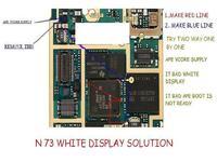 Nokia N73 - Nic nie widać na LCD