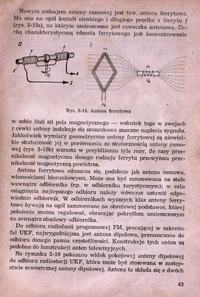 Antena do radia lampowego.