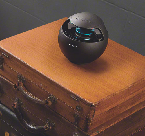 G�o�niki Sony 360' RDP-V20iP z Bluetoothem i RDP-V20iP z dockiem dla iP