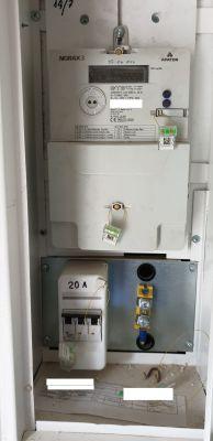 Zabezpieczenie przedlicznikowe 20A na 10A dla zmiany mocy umownej