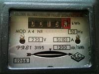 Podłączenie starego licznika kWh