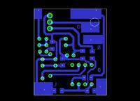 [Eagle] Sprawdzenie PCB ściemniacza IR
