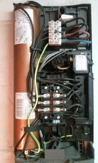 Bojler cwu + przepływowy ogrzewacz wody - współpraca