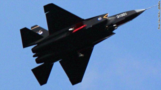 Wyciek�o zdj�cie nowego chi�skiego my�liwca typu stealth - J-31
