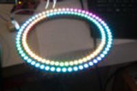 Zegar �wietlny na diodach RGB