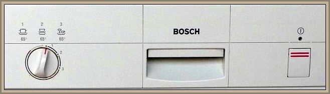 Zmywarka Bosch SGS 3002 - Zawieszanie programów