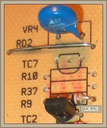 Mastercook PFSE -1043 - nie wiruje, przepalone TC6, R11 i R38 na programatorze