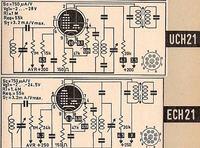 Lampy ECH21 i UCH21 - Podobieństwo