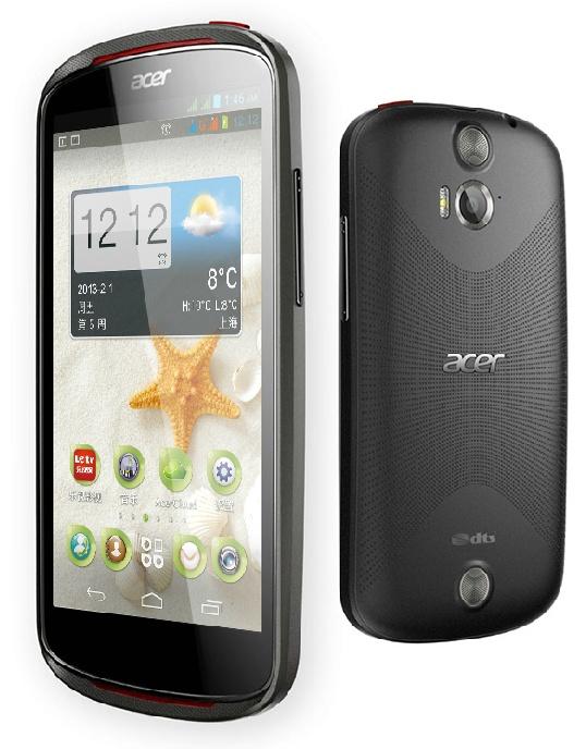 Acer Liquid E1 - �redniej klasy 4.5-calowy smartfon z Dual-SIM dla Chin