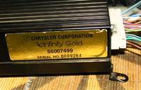 wzmacniacz samochodowy infinity model 36670 JEEP-CHRYSLER
