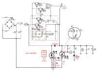 LM723 - pytanie o schemat