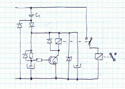 Jak opóźnić zadziałanie przekaźnika 230V ?