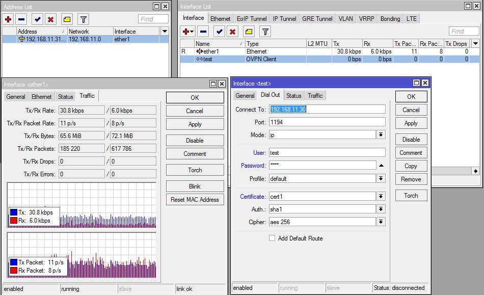 Vyatta/Mikrotik/OpenVPN - postawienie tunelu pomi�dzy routerami