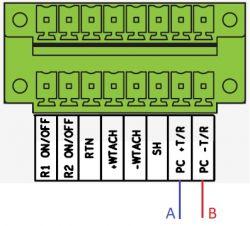 Arduino i Inverter ABB Trio 5.8 half-duplex, Modbus RTU