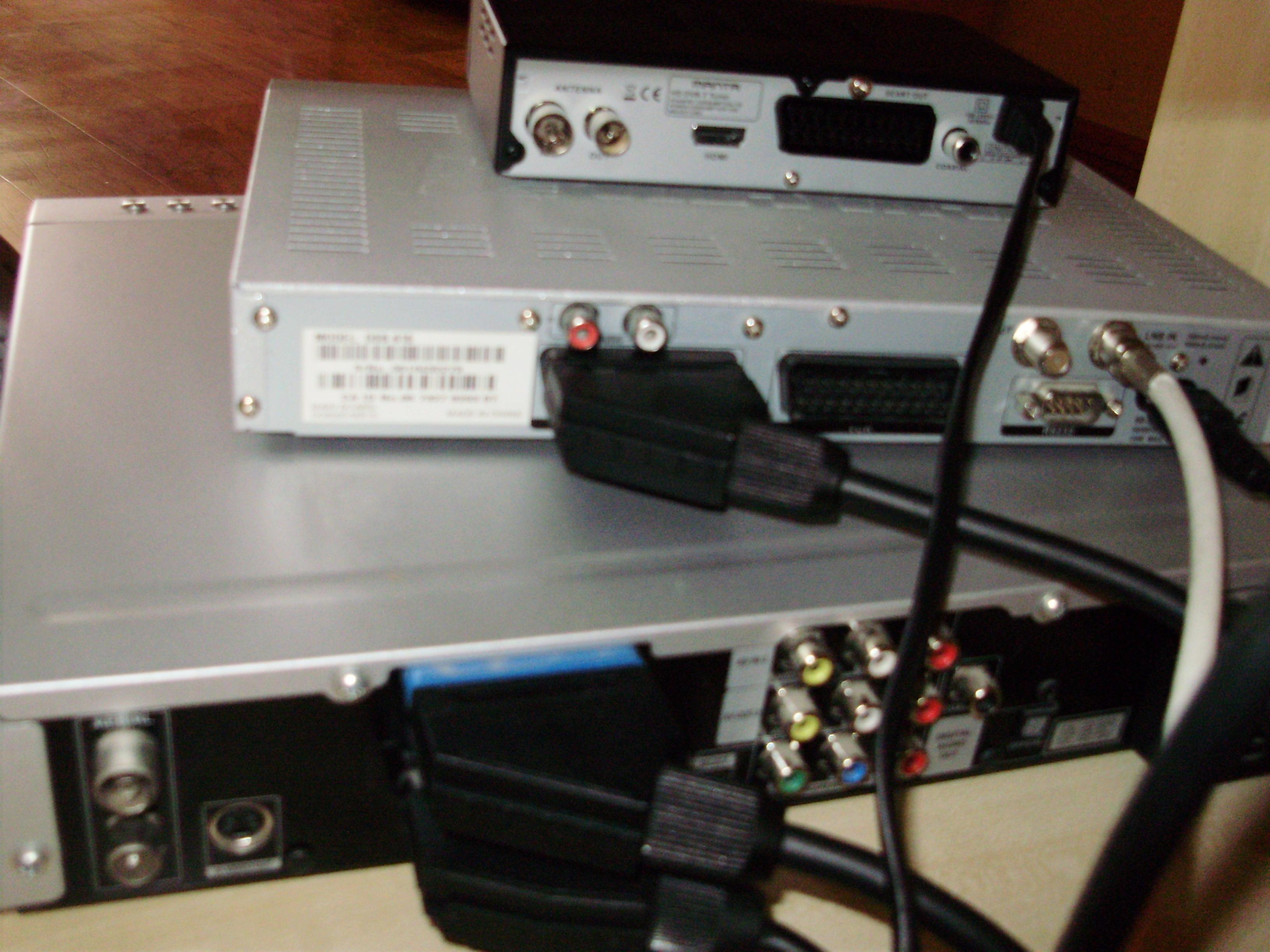 manta/ CP/ LG - dekoder cyfrowego plosatu + nagrywarka+ tunetv  jak to pod��czy�