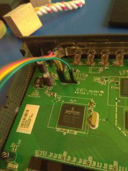 Router Netgear 3500L V2 ubity przy wgrywaniu Tomato