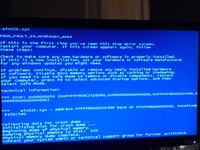 Blue Screen - pod czas pracy komputera, uruchomionych apliakcji i zamykania syst