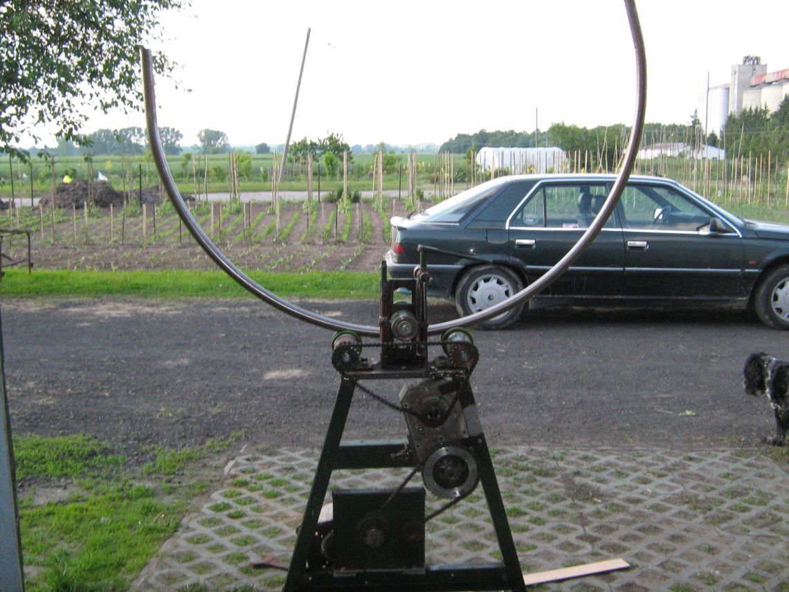 Topnotch Walcarka metali (płaskowników, profili, rur) - elektroda.pl RH14
