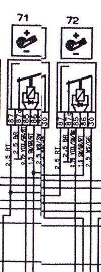 Podłączenie włącznika klawiszowego kombajn CLAAS DOMINATOR 114 CS