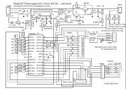 Zasilacz regulowany 22V 2.5A (sprawdzenie schematu) [Eagle]