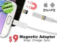Znaps - magnetyczne złącze ładowania do każdego telefonu (Kickstarter)