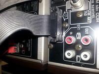 Gramofon Unitra GS-467 - Podłączenie do Technics HD70