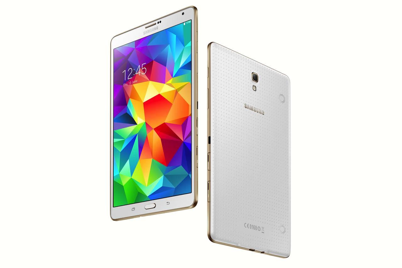 "Samsung Galaxy Tab S 8.4 - tablet z 8"" AMOLED, Exynos 5 Octa i Android 4.4"