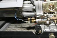 Bolec regulacyjny agregatu diesel, z�a praca silnika