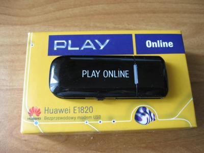 [Sprzedam] Modem USB e1820 Huwaei , kupiony w Play