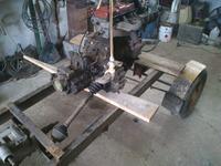 traktorek - traktore z silnikiem z golf II
