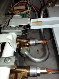 Gorenje - Kuchenka gazowa i regulacja zabezpieczenia przeciwwypływnego