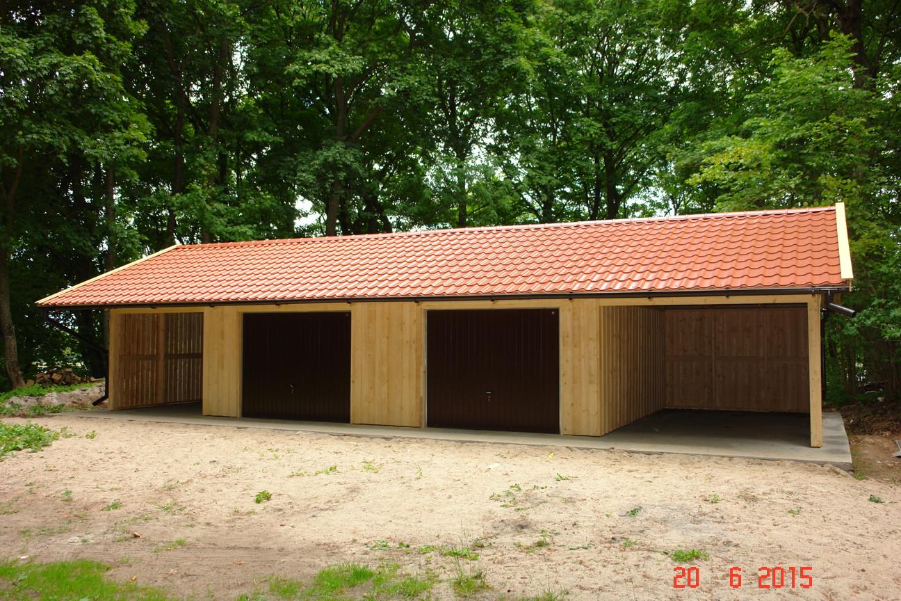 garagen carport kombination 12 x 6 m plus dach berstand 1. Black Bedroom Furniture Sets. Home Design Ideas