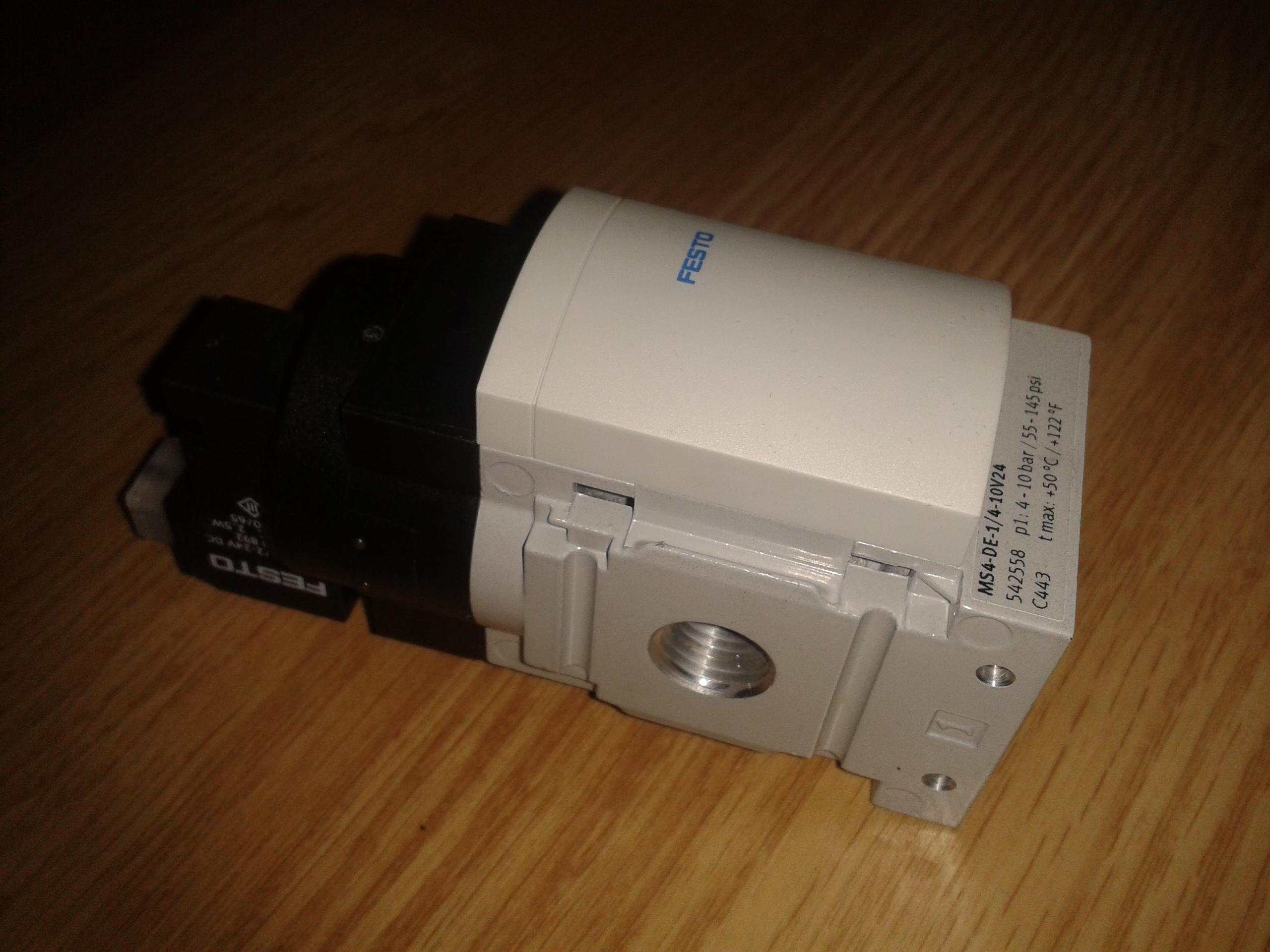 [Sprzedam] Elektrozaw�r 24V (soft-start) FESTO MS4-DE-1/4-10V24