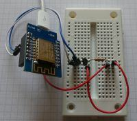 Termometr WiFi - ESP8266 + DS18B20 - ThingSpeak, Blynk.