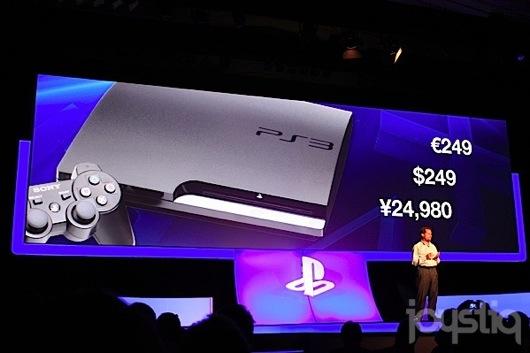 Sony obni�a ceny - PS3 slim do 250 euro, nowe PSP bez Wi-Fi tylko 99 euro