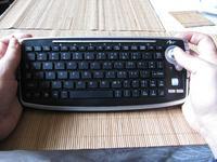 Jaka zgrabna klawiatura z touchpadem/trackballem do smart tv?