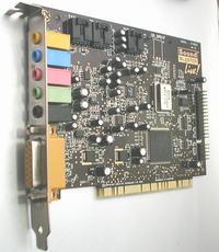 Pioneer VSX-D810S, SB Live 5.1 - Podłączenie amplitunera do SB Live 5.1