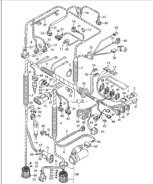 Samor�bka wi�zki silnika GOLF III 1.9 TD AAZ