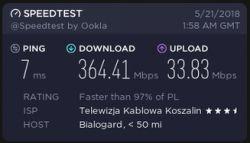Cykliczna utrata połączenia z internetem, przyczyna