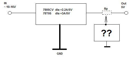 Kontrolka LED w��czaj�ca si� po obci��eniu zasilacza samochodowego USB 5V