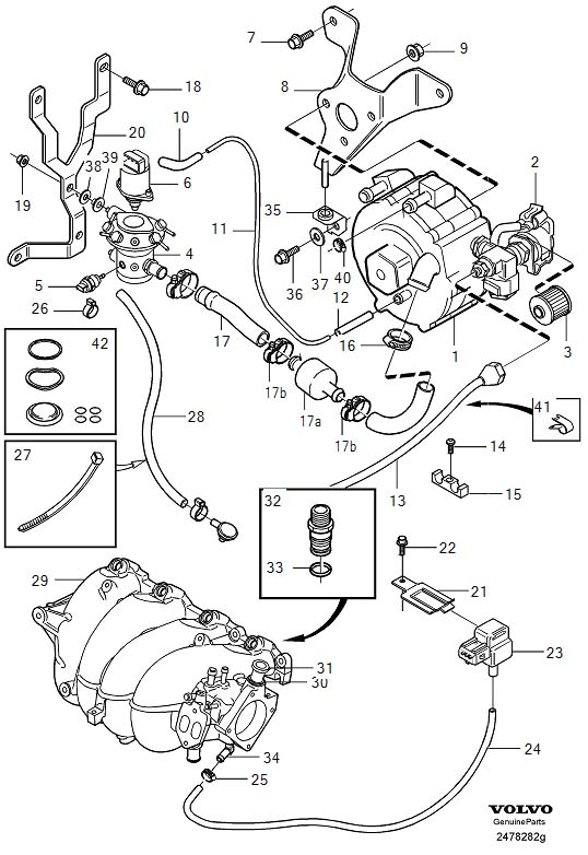 Ford Pcv Valve Vacuum Connection furthermore 2005 Volvo Xc70 Brake Diagram likewise 2000 Mercury Mountaineer Vacuum Diagram together with 2013 Ford Fusion Front Suspension Diagram likewise Mazda Miata Performance Exhaust System. on 207766498 chrysler town and country 2001 2007 parts manual
