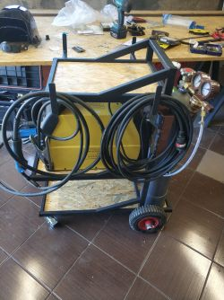 Trolley for MIG / MAG welder