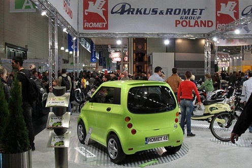 Romet 4E - nowy polski samoch�d na baterie!