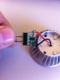 Sygnał TV zakłócany przez LED
