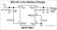 Zabezpieczenie układu przed odwróconą polaryzacją baterii