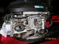 Kosiarka Honda GCV 135 - brakująca część ssania, pasek napędu kół